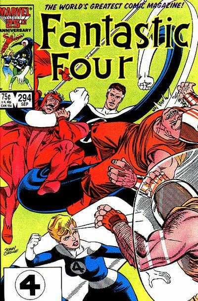 Mike Carlin Fantastic Four #294