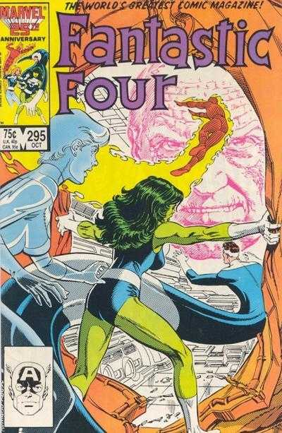 Mike Carlin Fantastic Four #295