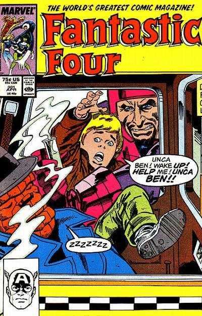 Don Daley Fantastic Four #301