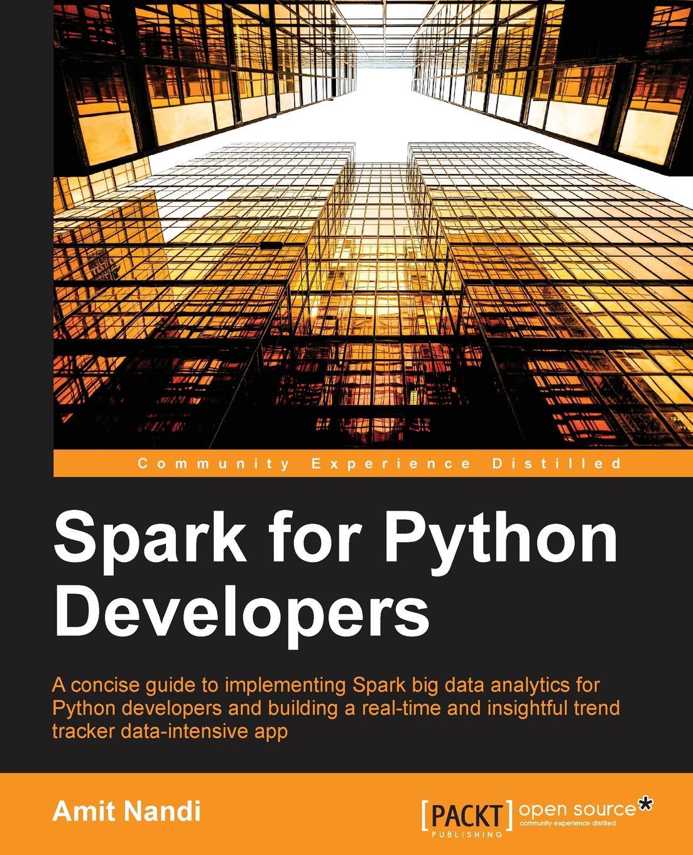 Amit Nandi Spark for Python Developers nandi eckerson talkin to a man
