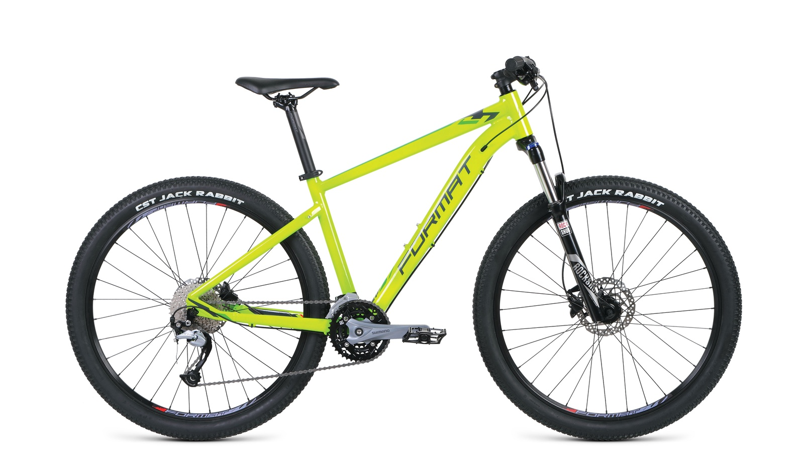 Велосипед Format RBKM9M67S009, желтый