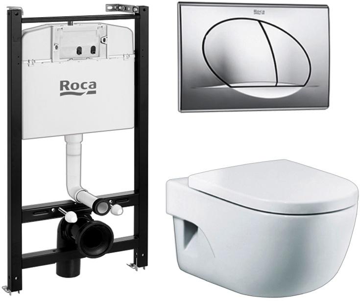 Комплект Roca Pack Meridian Compact 893104110 пропавший изумруд вебб х