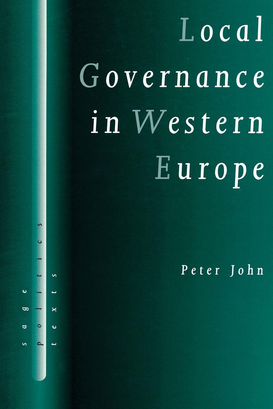 Peter John Local Governance in Western Europe shoes 8 5 in europe