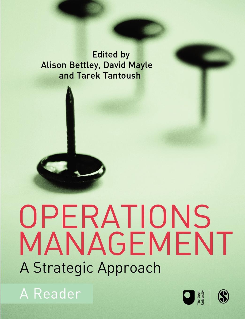 Operations Management. A Strategic Approach