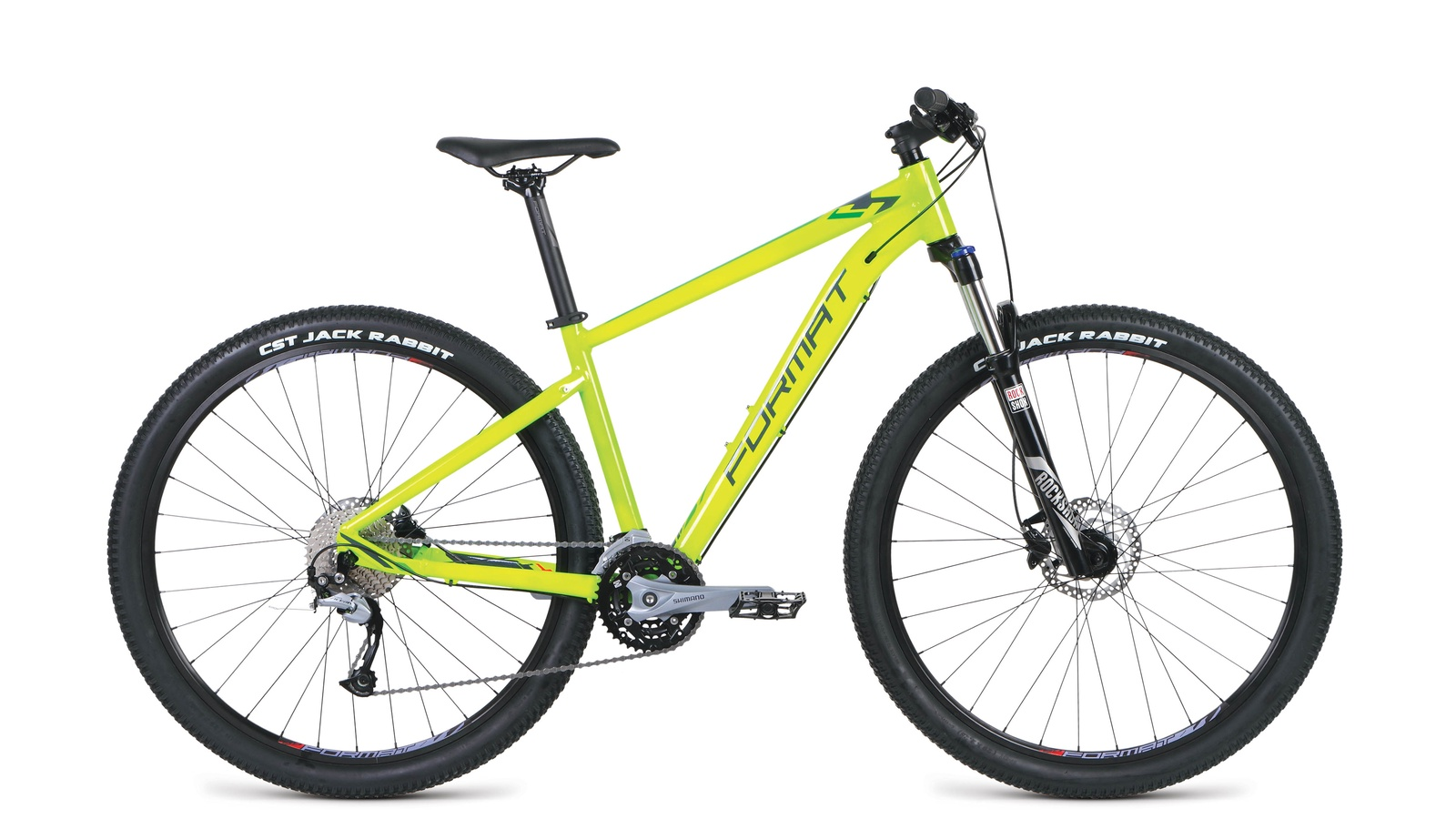 Велосипед Format RBKM9M69S005, желтый велосипед format 1113 2014