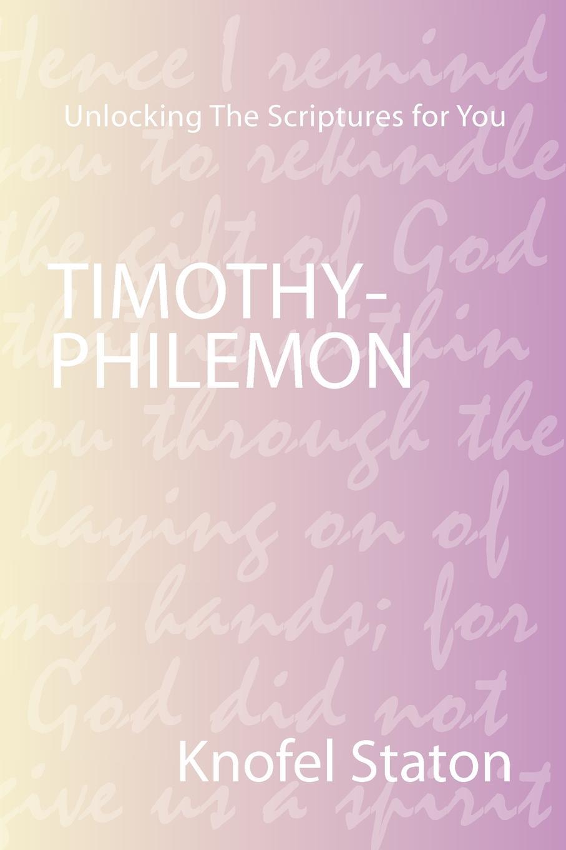 Knofel Staton Timothy-Philemon