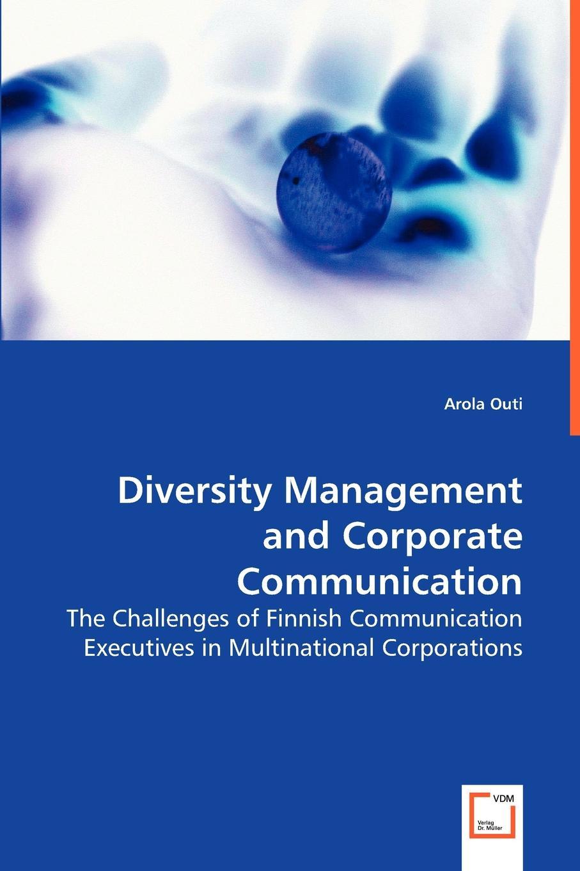 Arola Outi Diversity Management and Corporate Communication algal diversity