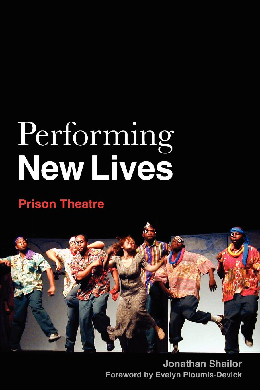 Jonathan Shailor Performing New Lives. Prison Theatre