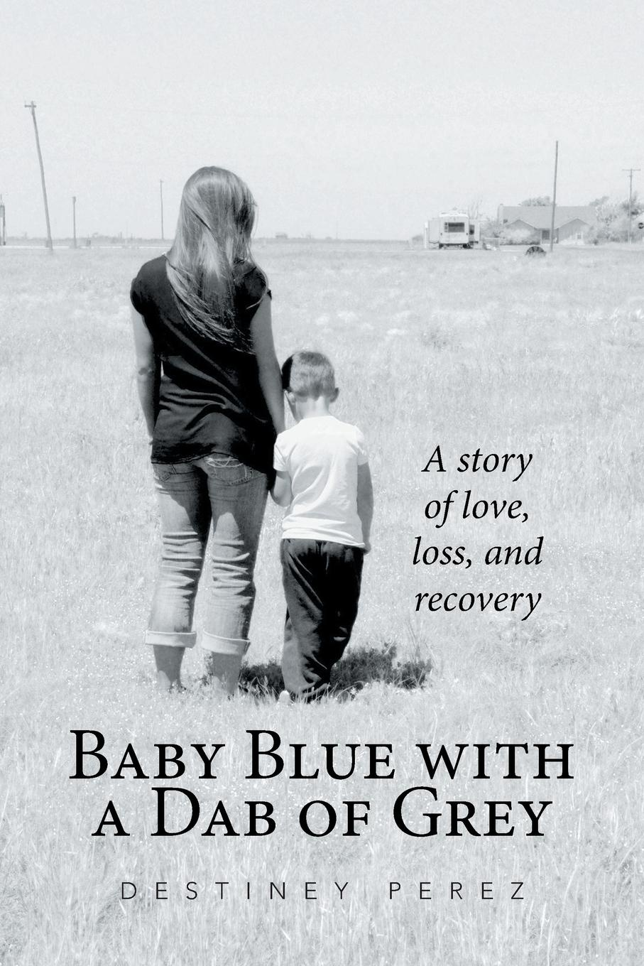 Destiney Perez Baby Blue with a Dab of Grey. A Story of Love, Loss, and Recovery
