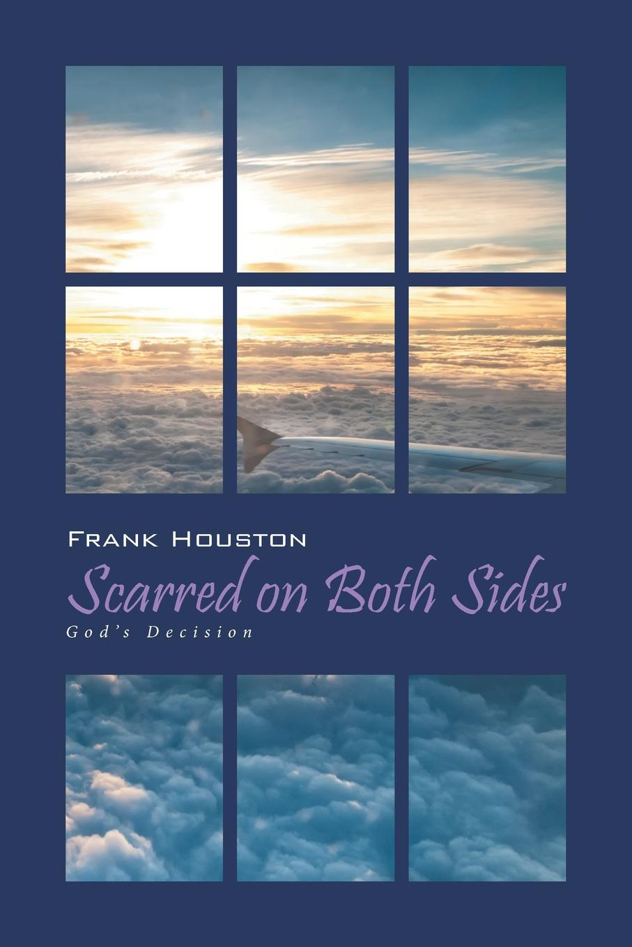 Frank Houston Scarred on Both Sides. God's Decision both sides worn pocket zipper front coat