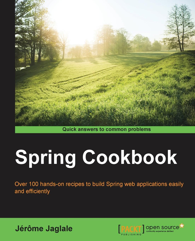 Jérôme Jaglale Spring Cookbook