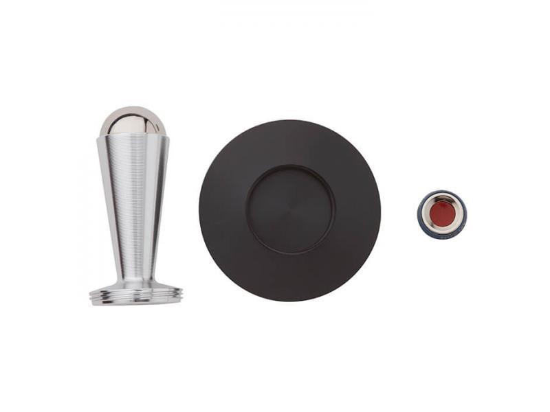 Держатель для телефона NiteIze Набор магнитных держателей для телефона Nite Ize Steelie Desk & Dash, черный универсальный автомобильный держатель nite ize steelie vent mount kit