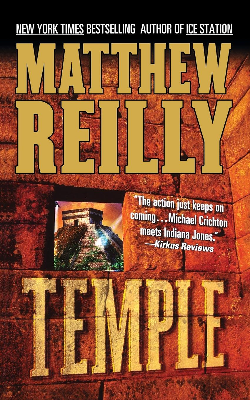 MATTHEW REILLY TEMPLE black temple black temple it all ends