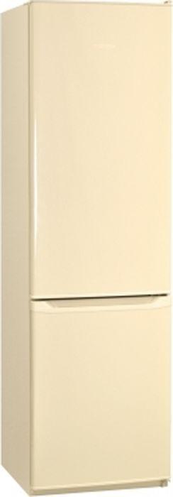 Фото - Холодильник Nordfrost NRB 119 732, двухкамерный, бежевый двухкамерный холодильник hitachi r vg 472 pu3 gbw