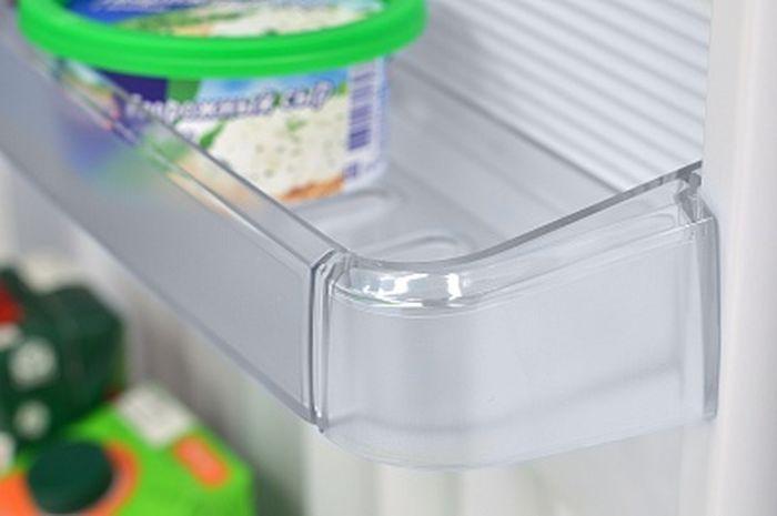 Холодильник Nordfrost NRT 145 332, двухкамерный, серебристый металлик В холодильной объемом 209 л предусмотрено антибактериальное покрытие...