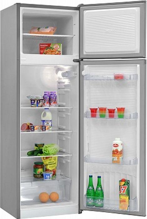 Холодильник Nordfrost NRT 144 332, двухкамерный, серебристый металлик цены
