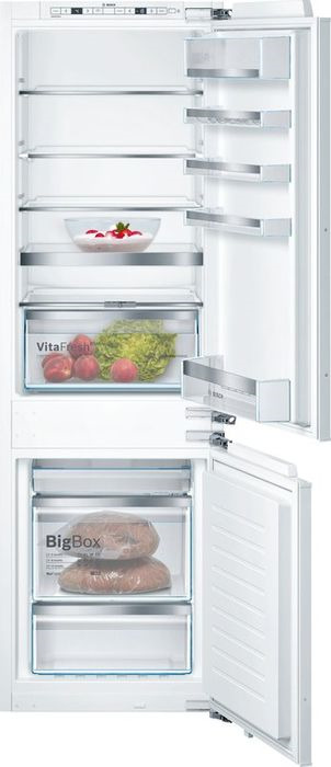 Холодильник Bosch KIN86HD20R, белый встраиваемый холодильник bosch kur15a50ru белый