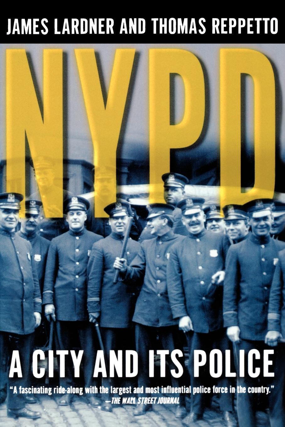 James Lardner, Thomas Reppetto NYPD patterson j nypd red 5