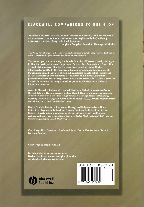 The Blackwell Companion to Protestantism цены онлайн