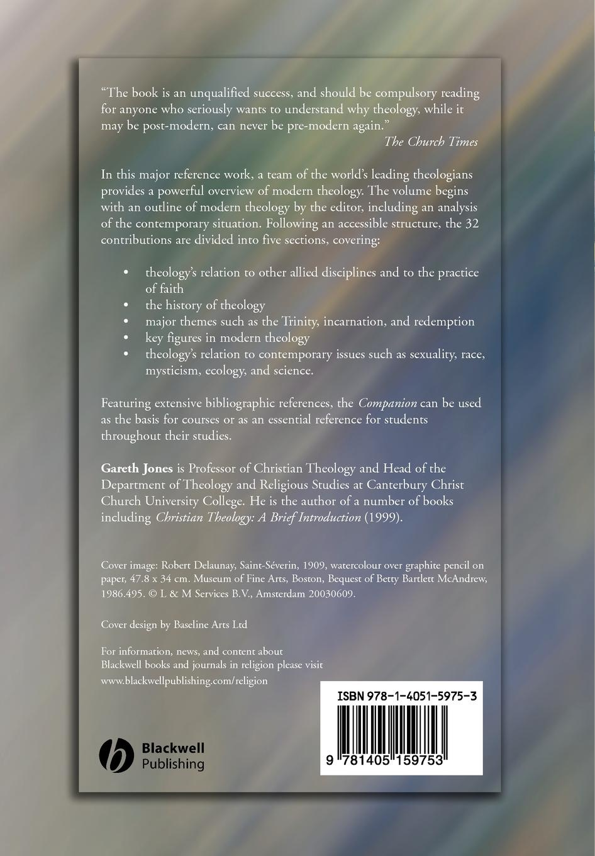 Jones Blackwell Companion to Modern Theology orlando espin o the wiley blackwell companion to latino a theology
