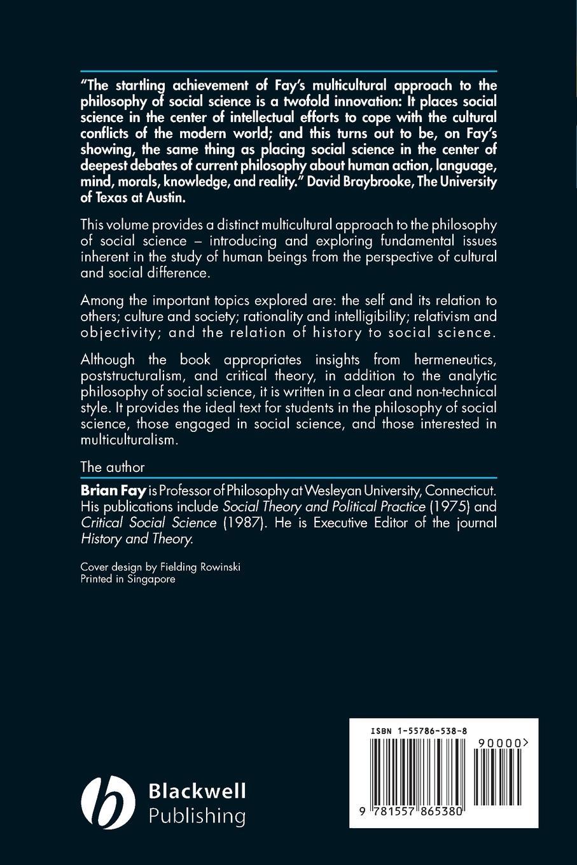 Brian Fay, Fay Contemporary Philosophy Social все цены