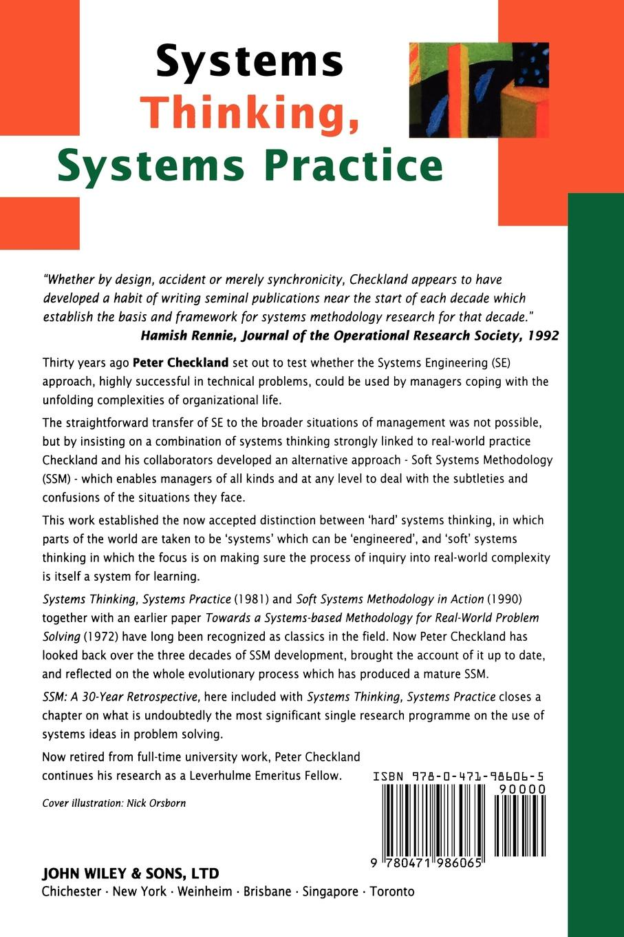 Checkland Systems Thinking, Systems Practice door entry systems