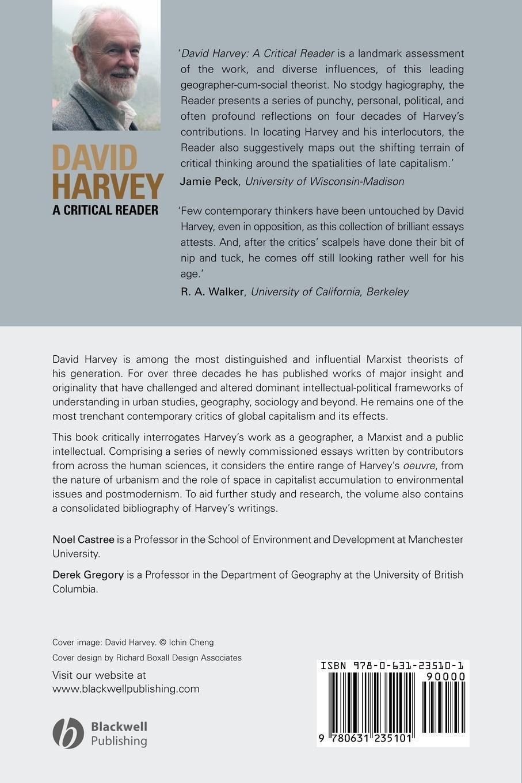 Castree, Gregory David Harvey