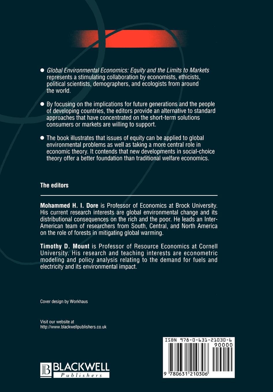 "Global Environmental Economics Книга""Global Environmental Economics""...."
