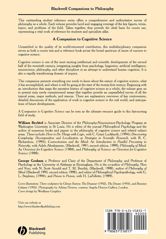 Bechtel, Graham Companion Cognitive Science цена