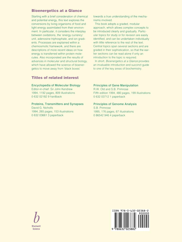 Harris Bioenergetics at a Glance недорого
