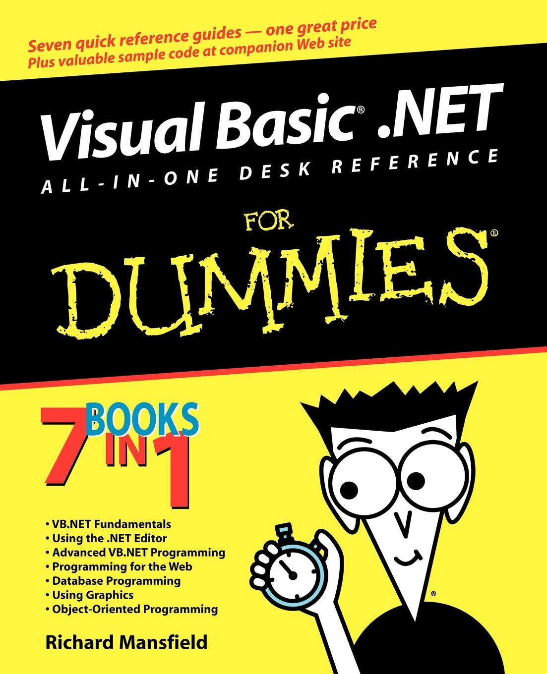 Mansfield Visual Basic .NET All One Desk richard wagner richard mansfield xml all in one desk reference for dummies