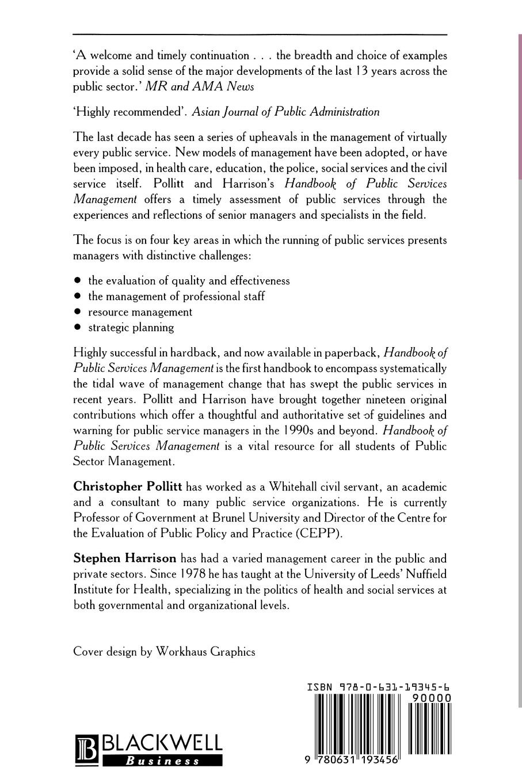 лучшая цена Stephen Harrison, Christopher C. Pollitt, Shirley Harrison Handbook of Public Services Management