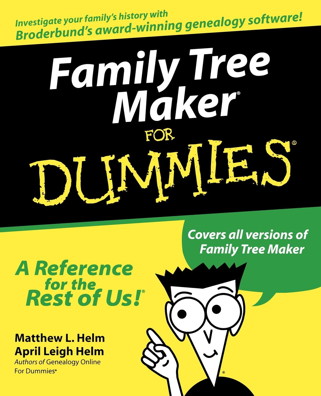 Helm Family Tree Maker For Dummies april helm leigh genealogy for dummies