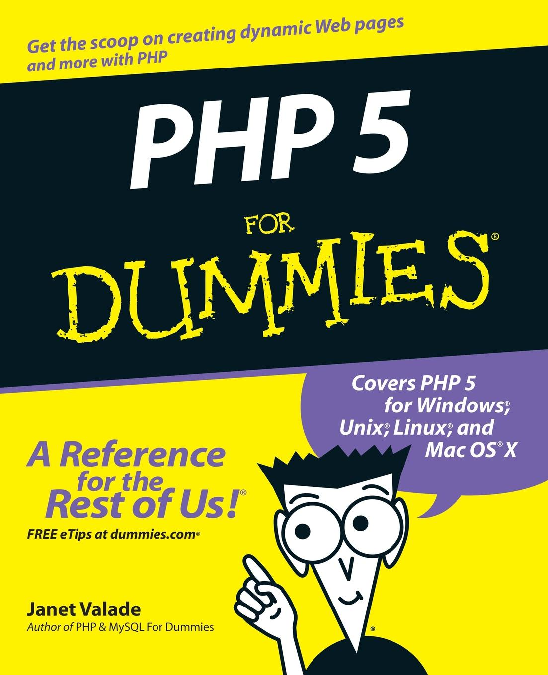 Valade PHP 5 For Dummies