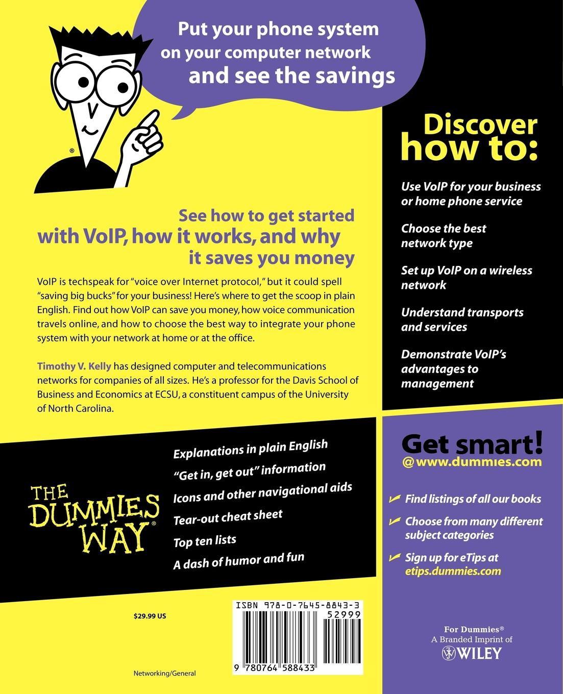 Kelly VoIP For Dummies jane kelly accounting workbook for dummies