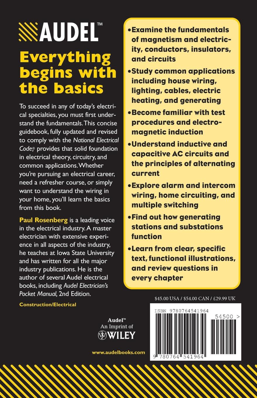 Paul Rosenberg, Robert Middleton Audel Practical Electricity paul rosenberg audel guide to the 2011 national electrical code all new edition