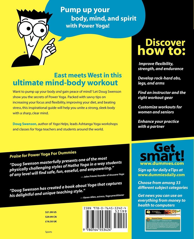 Swenson Power Yoga For Dummies swenson power yoga for dummies