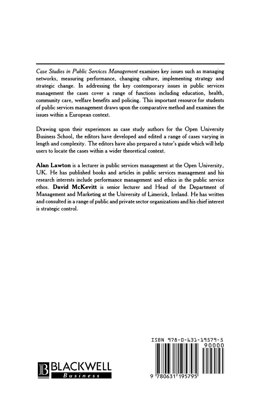 лучшая цена Lawton, McKevitt Case Studies in Public Services Management