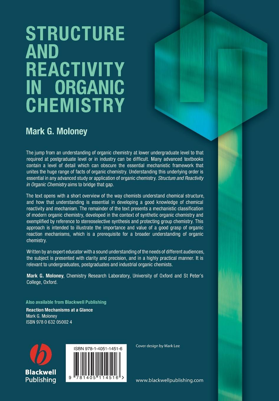 Moloney Structure Reactivity Organic Chemistry steven bachrach m computational organic chemistry isbn 9781118671139