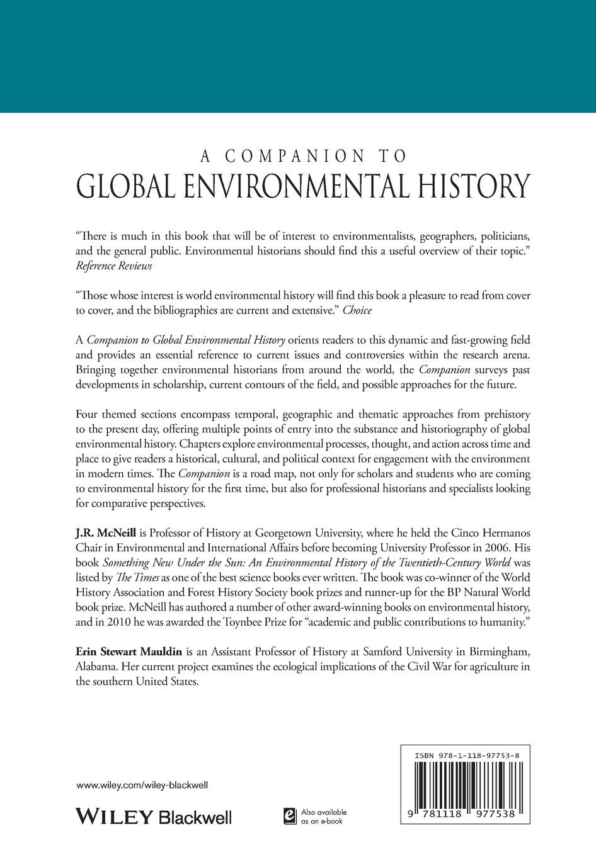 McNeill Comp Global Environmental Hist frances harris global environmental issues