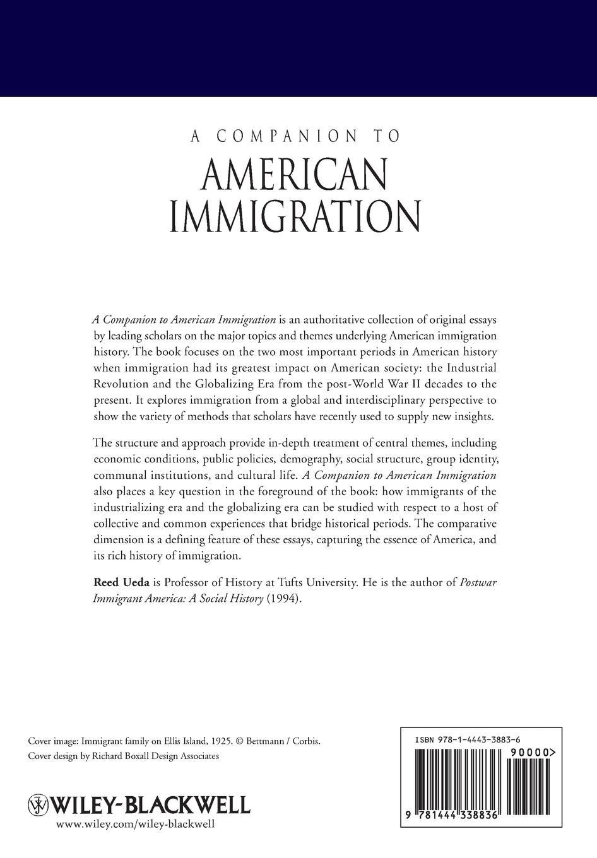 A Companion to American Immigration недорого