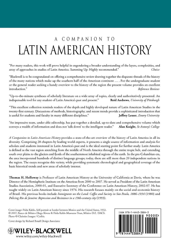 Holloway Companion Latin American History недорого