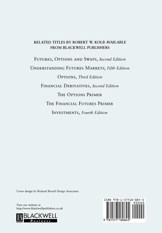 Kolb Financial Derivatives wendy pirie l derivatives
