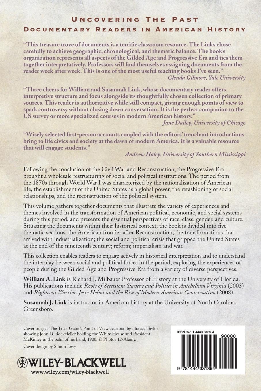 Link Gilded Age and Progressive Era progressive business