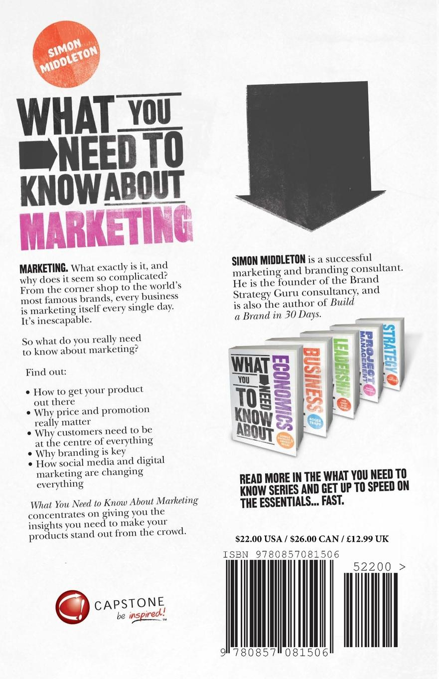 """What You Need to Know about Marketing Книга""""What You Need to Know about Marketing""""...."""