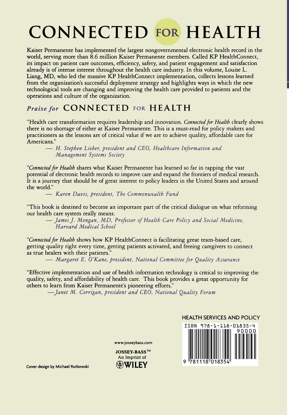 Liang Connected for Health. Using Electronic Health Records to Transform Care Delivery electronic health records and medical big data