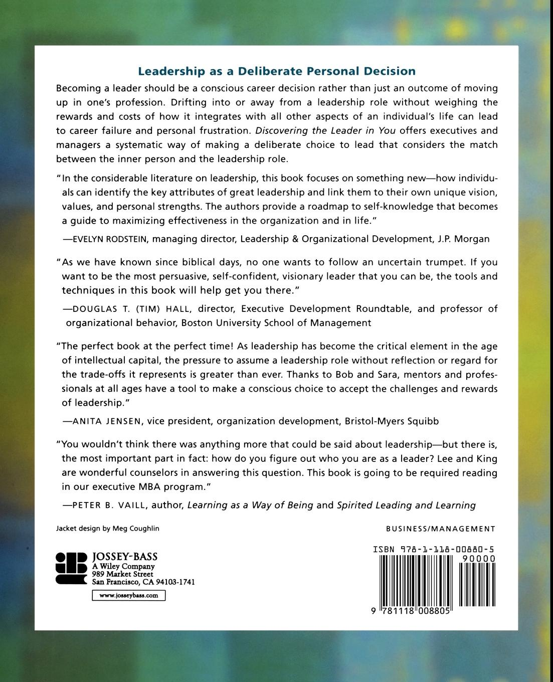 Jenny Lee, King Discovering the Leader in You. A Guide to Realizing Your Personal Leadership Potential john adair how to find your vocation a guide to discovering the work you love