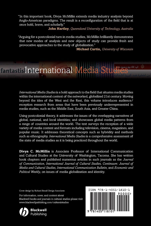 McMillin International Media Studies цена