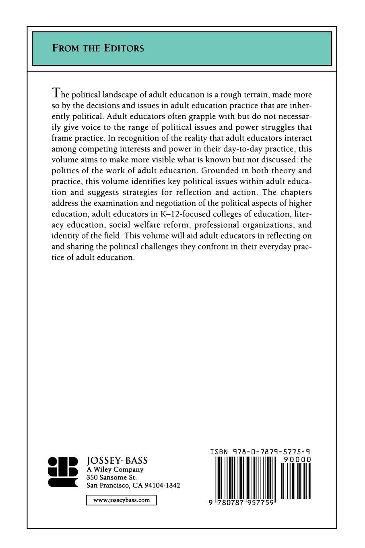 ACE, Hansman, Sissel Political Landscape Adult Educ
