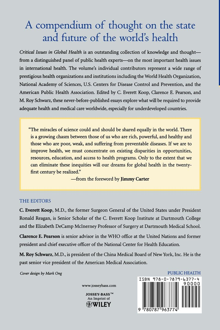 Koop, Pearson, Schwarz Critical Issues Global Health